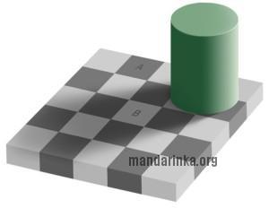 иллюзия тени Адельсона